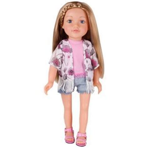 design a friend jubilee doll buy chad valley designafriend cool kimono outfit at argos