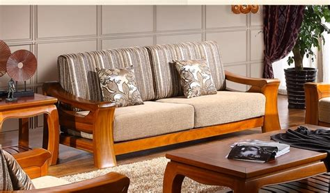 Wood Furniture For Living Room Wood Sofa Set Designs For Small Living Room Living Room
