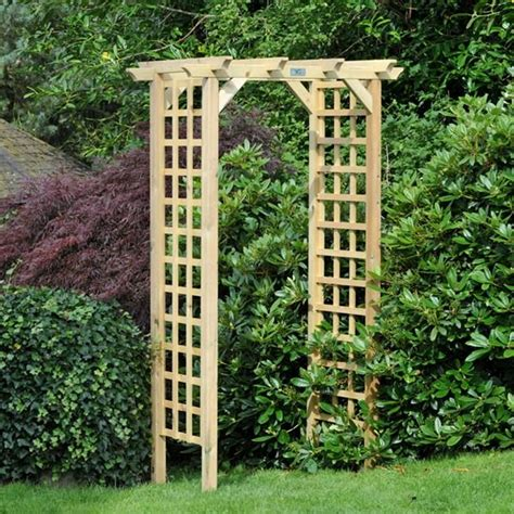 Curved Trellis Arch 1000 Images About Wooden Arches On Gardens