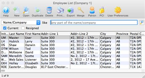 employee names list the daily task list tasks on the calendar images frompo