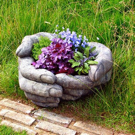 unique outdoor planters unique flower pots gardening forums