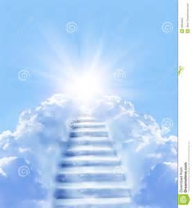 treppe zum himmel treppen im himmel stockfotografie bild 18004552