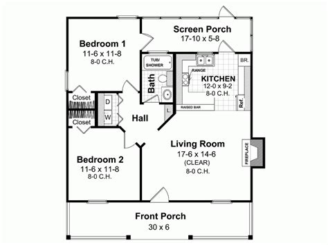 House Plans Under 800 Square Feet | eplans ranch house plan memories of days gone by 800