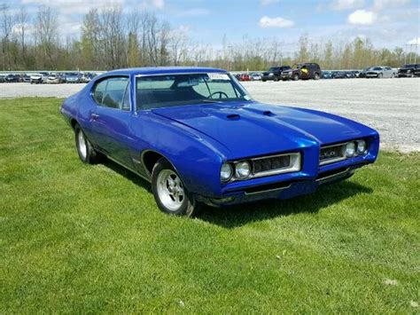 1968 Pontiac Tempest by 1968 Pontiac Tempest For Sale At Copart Leroy Ny Lot