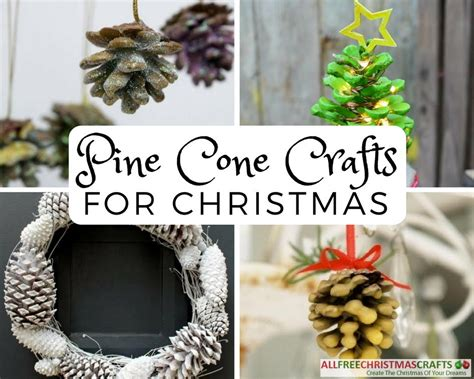 22 pine cone crafts for christmas allfreechristmascrafts com