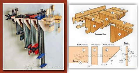 build clamp rack woodarchivist