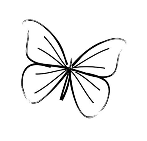 butterfly tattoo to draw simple butterfly line drawing tattoo inspiration