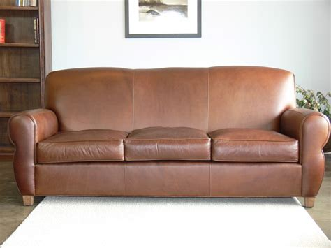 top grain leather sofas midtown top grain leather sofa