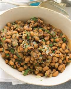 new year s food tradition black eyed peas and greens hearty black eyed peas recipe from everyday food