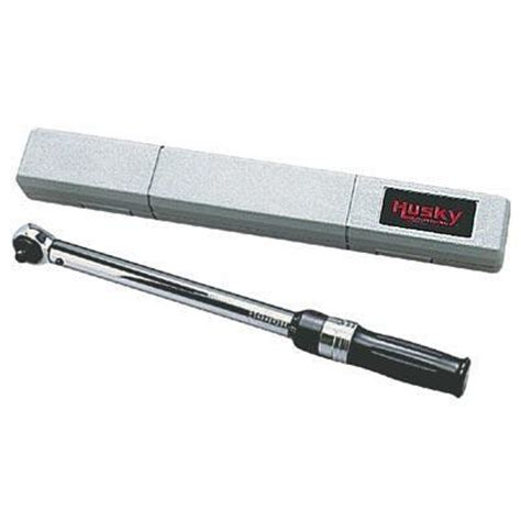 husky 3 8 in drive torque wrench home depot canada
