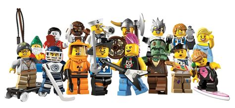 Series 8804 5 Set 3 In 1 the duckling lego collectible minifigure guides