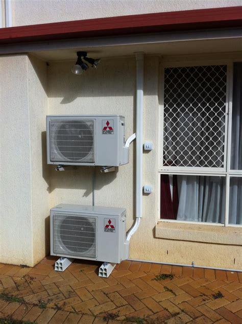 mitsubishi mini install mitsubishi mini air conditioner