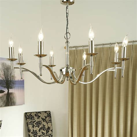 Interiors 1900 Stanford by Interiors 1900 Ca1p8n Stanford Nickel 8 Light Chandelier