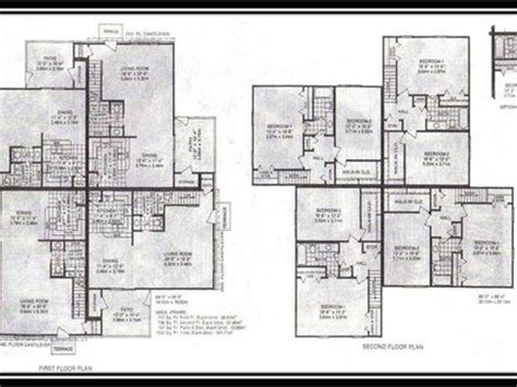 8 plex apartment plans 4 plex townhouse floor plans 4 plex apartment floor plans