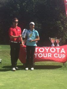 Toyota Tour Cup Zhang Charge S To Third At Toyota Tour Cup At Windy