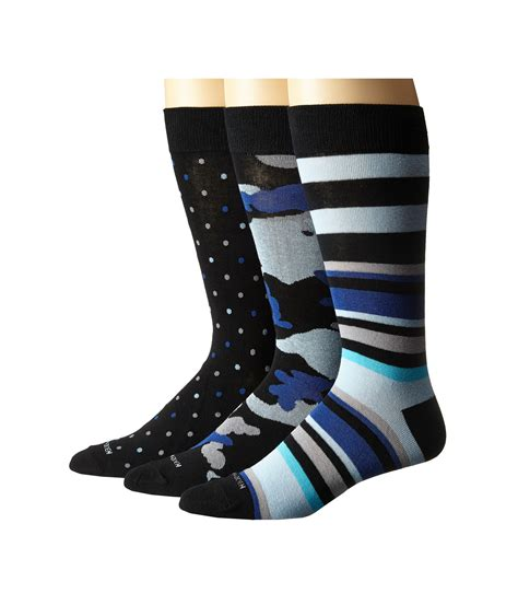 Steve Madden No Show Socks by Steve Madden 3 Pack Fashion Crew Socks At Zappos