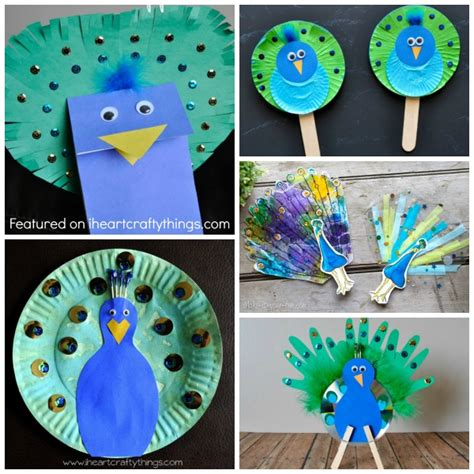 peacock crafts for tiger paper plate craft www imgkid the image kid
