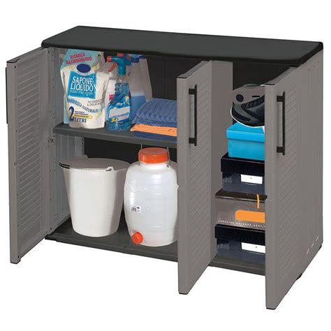 armadio 3 ante economico plast e101 b armadio basso in plastica 3 ante