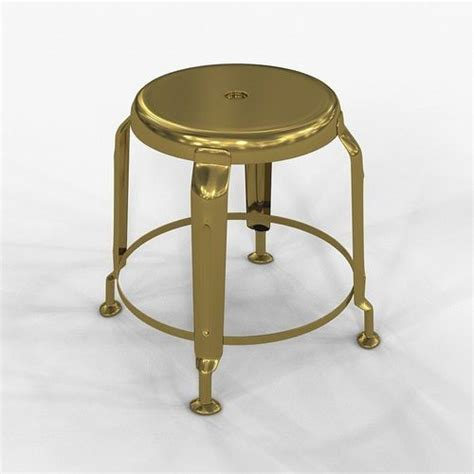 Stool Definition by Stool Define Gold By Doctor House 3d Model Max Cgtrader