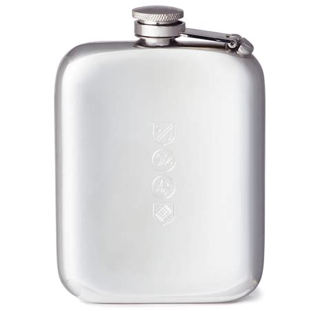 Micro Home Designs pewter flask by sir jacks made in england