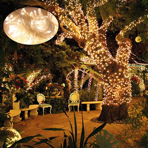best 28 stringing lights on outdoor trees 8