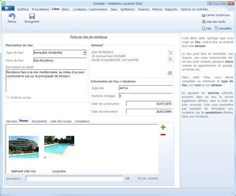 Logiciel de gestion locative professionnel Webimmo Locagest