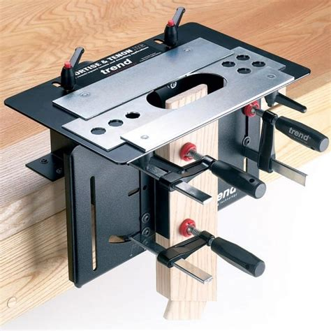 trend woodworking mortise tenon jig rockler woodworking tools