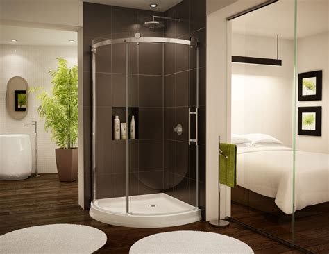 Glass Shower Enclosures With Base Acrylic Shower Base Innovate Building Solutions
