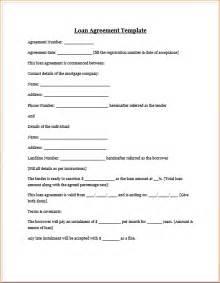 Simple Loan Document Template by 4 Simple Loan Agreement Templatereport Template Document