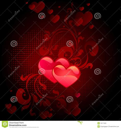 black valentines day black s day card stock photography image 18171922