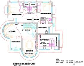 Ground Floor Plans House by Gallery For Gt Kerala Villa House Plans