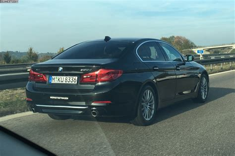 Bmw 530d by 2017 Bmw 530d Looks Imposing On The Autobahn