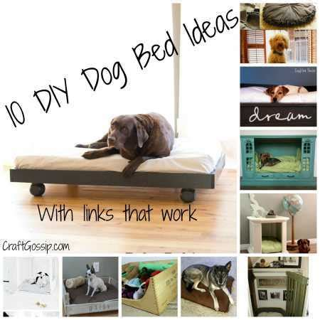 diy dog r for bed 10 diy dog beds home and garden