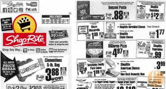 shoprite preview ad   week  living rich  coupons