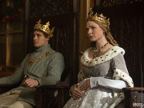 Elizabeth White Series max irons as king edward iv and ferguson as elizabeth woodville the white tv