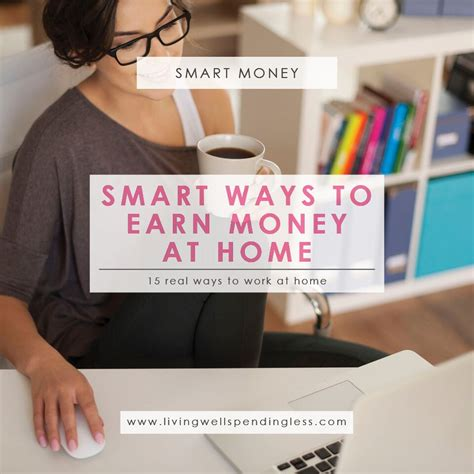 Smart Ways To Make Money Online - 15 smart ways to earn money at home how to make money from home