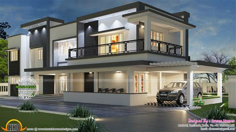 Best Modern House Plans Photos Modern House Plans India Best Of Modern Flat Roof House In