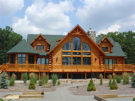install prefab log cabins prefab homes prefab log