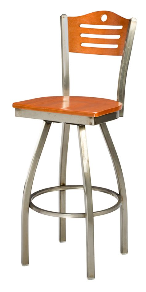 commercial swivel bar stools with backs regal seating 3316 arch back commercial metal swivel bar