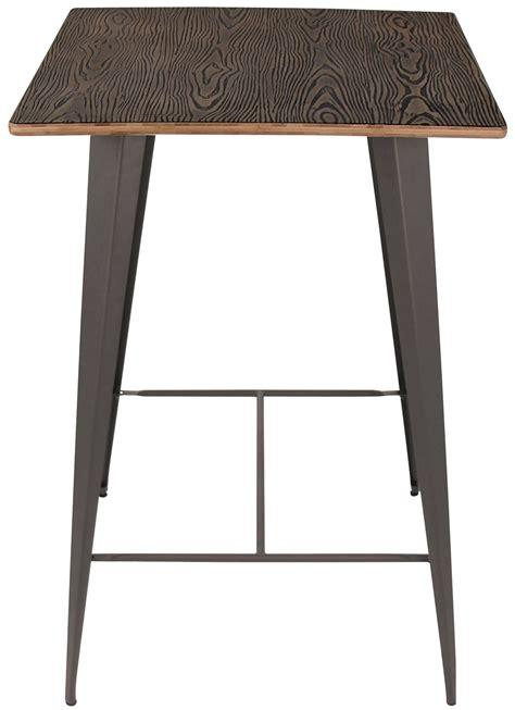 Espresso Bar Table Oregon Espresso Pub Table From Lumisource Bt Tw Or Dke An Coleman Furniture