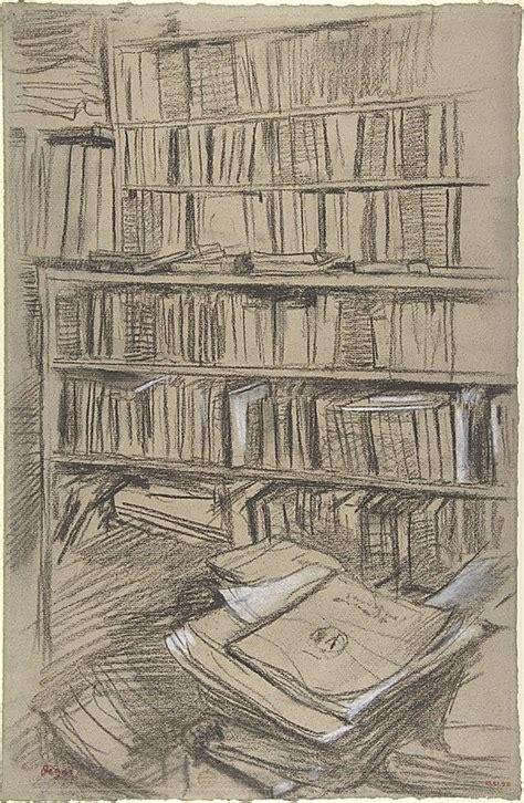 libro degas by himself drawings quot bookshelves study for edmond duranty quot 1879 edgar degas degas edgar y obras