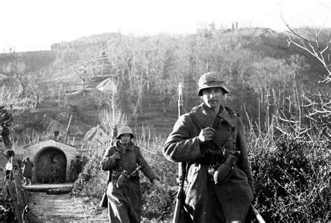 tedesca in italia 1944 la tattica tedesca in italia televignoletelevignole