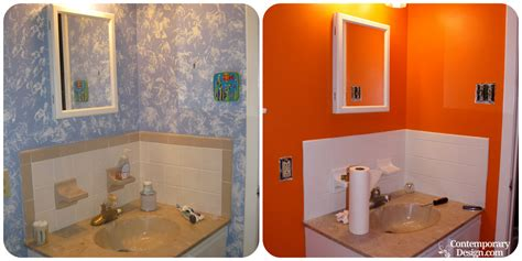 painting a bathroom painting over bathroom tiles