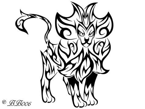 tribal designs coloring pages tribal pyroar by blackbutterfly006 on deviantart