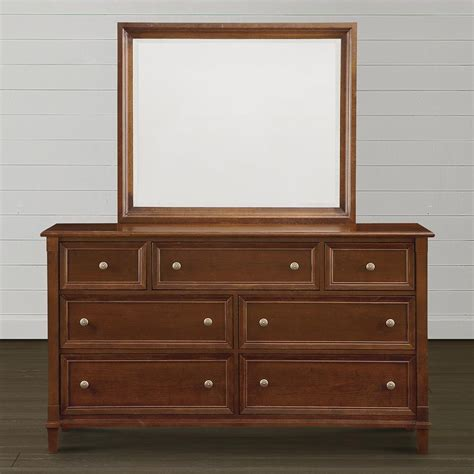 traditional 7 drawer bedroom dresser chest