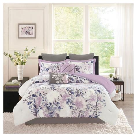 floral bedding target lira 8 piece watercolor floral comforter set target