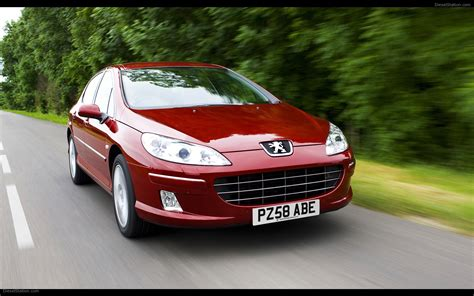 new peugeot 407 the new 2009 peugeot 407 widescreen exotic car picture 07