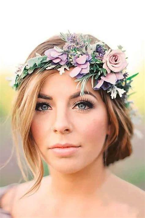 Best Boho Wedding Hairstyles by Boho Wedding Makeup Best Photos Wedding Ideas