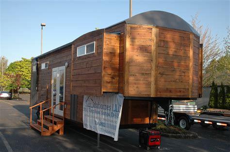 tiny home on trailer tiny idahomes 34 goose neck travel trailer