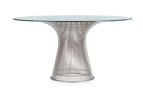 warren platner dining table platner dining table design within reach